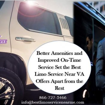 Best Limo Service Near VA Offers Apart from the Rest