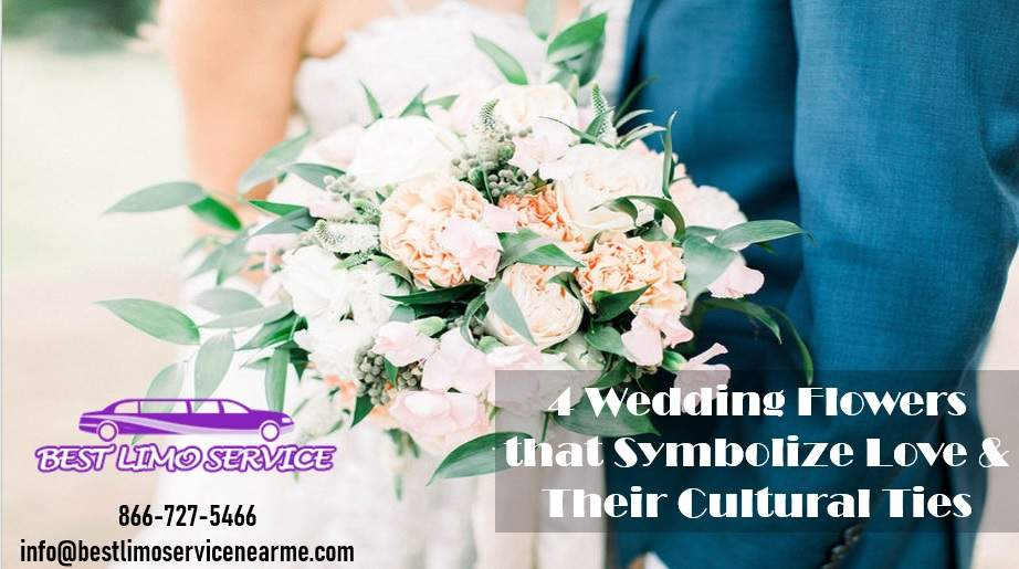 4 Symbolic Flowers for Love and Weddings